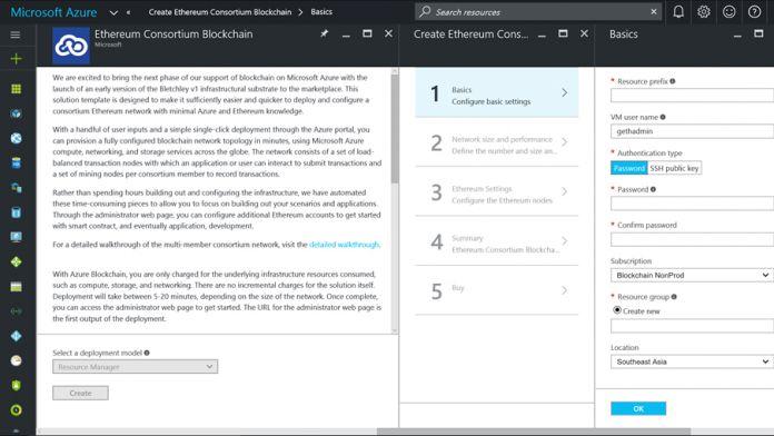 Azure Blockchain Microsoft