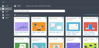 Custom Modules Cortana Intelligence Gallery Microsoft Official