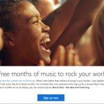 Groove Music Pass Free Trial Screenshot
