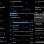 Reset app feature Aggiornamenti Lumia