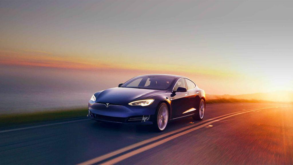 Tesla car official promo