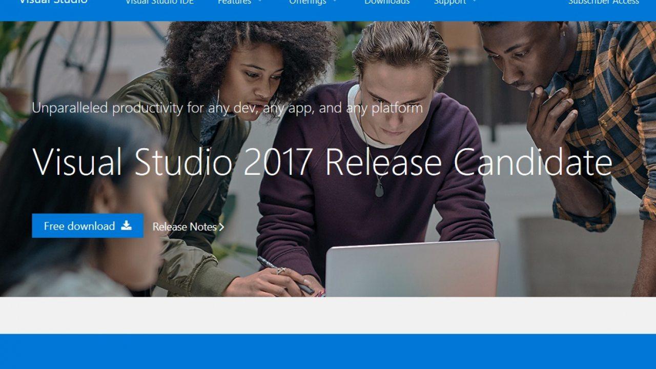 Microsoft Updates Visual Studio 2017 Release Candidate: Return of