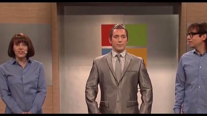 SNL Skit Microsoft Robot YouTube own
