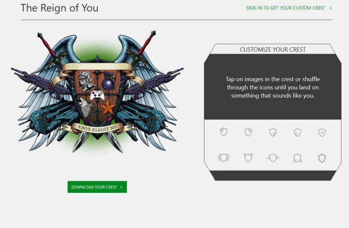 Xbox Live Gamercrest  Microsoft