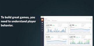 game analytics website screenshot