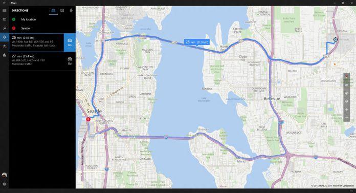 here maps here