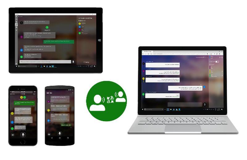 Microsoft Translator live devices Image credit: Microsoft