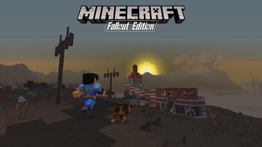 Minecratf: Fallout Edition Image credit: Mojang