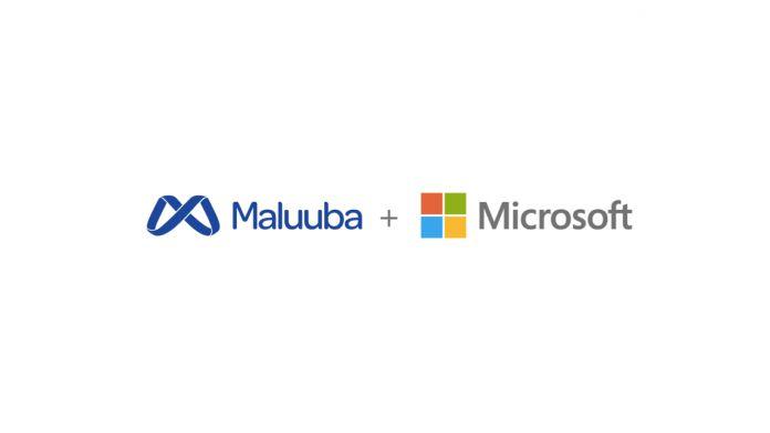 Maluba + Microsoft logos