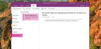 OneNote Change Update Microsoft