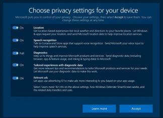 Privacy Settings Creators Update Microsoft Official