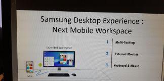 Samsung Galaxy S Desktop Experience