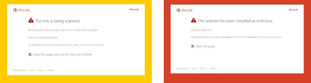 URL Detonation Office  Microsoft