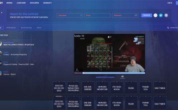 The new beam homepage