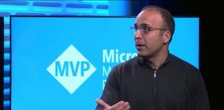 Steve Guggenheimer presenting the new MVP changes