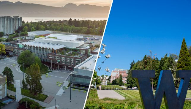 UW and UBC