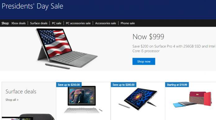 Windows Store 2017 Presidents´ Sale