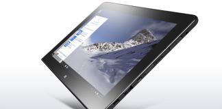 The Lenovo Thinkpad 10 tablet