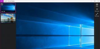 Remote Desktop UWP app