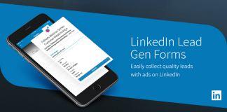 Linkedin lead gen forms