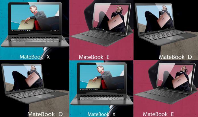 MateBook E MateBook X MateBook D