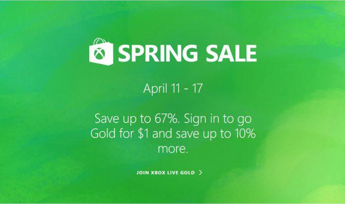 Microsoft Xbox Spring Sale