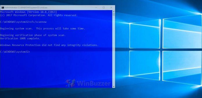 Sfc scannow windows 10 offline | Windows 10 sfc /scannow: Windows