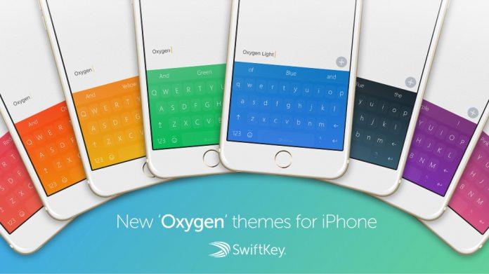 microsoft updates swiftkey for ios with new themes haptic feedback