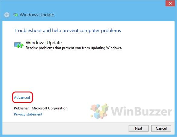 How to Fix Windows Update Errors - WinBuzzer