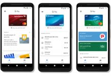 Google pay's new interface