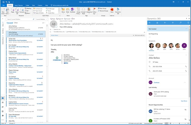 how to connect outlook to office 365
