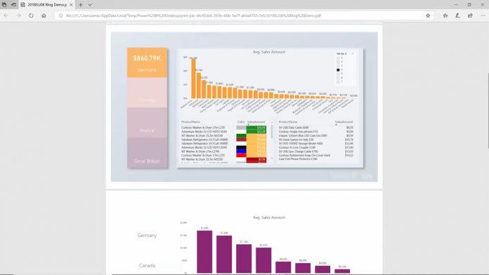 Power Bi Desktop S August Update Brings Python Integration Export