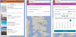 Bing itineraries