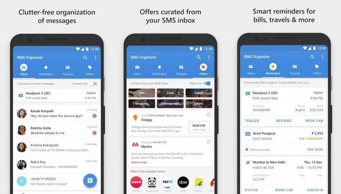 Microsoft Updates SMS Organizer on Android - WinBuzzer