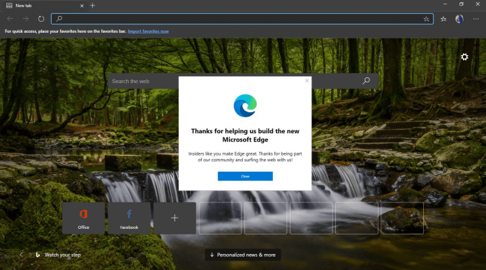 Chromium-Based Microsoft Edge Browser Launches in January