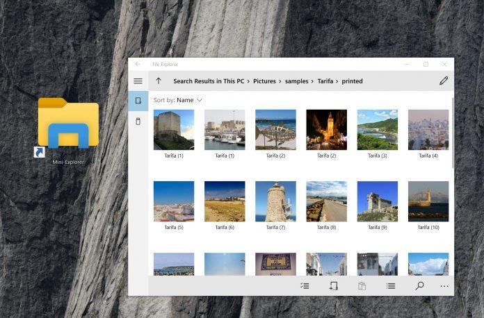 Windows 10 UWP File Explorer
