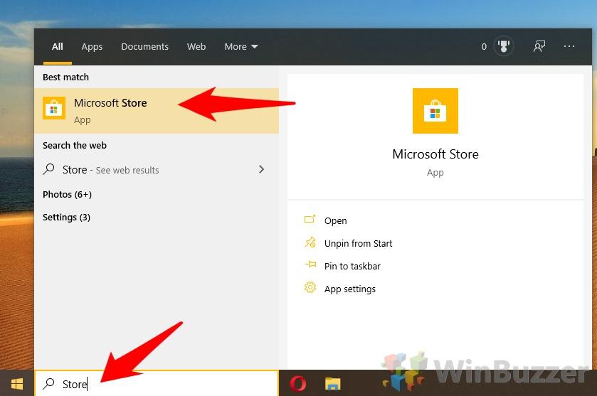 Windows 10 - Search - Microsoft Store