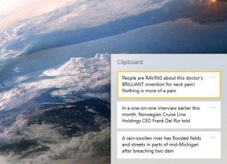 Windows 10 - Clipboard History