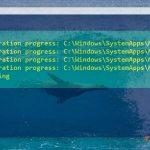 Windows 10 - PowerShell admin - reinstall all pre-installed apps - auto-installation