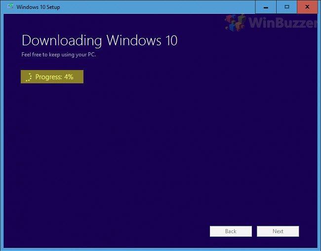 Windows 10 Media Creation Tool - Windows 10 Setup - Select a USB flash drive
