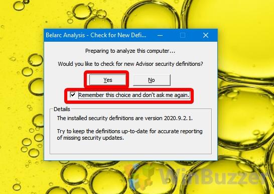 Windows 10 - Belarc Advisor