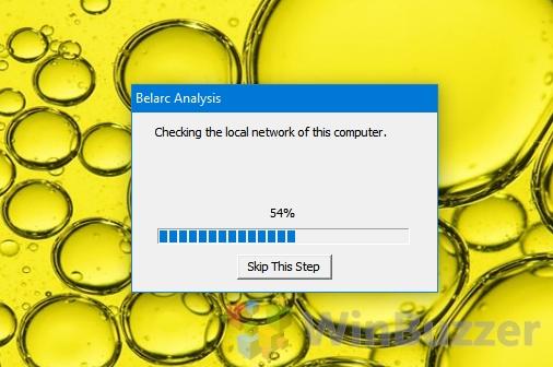 Windows 10 - Belarc Advisor Scan