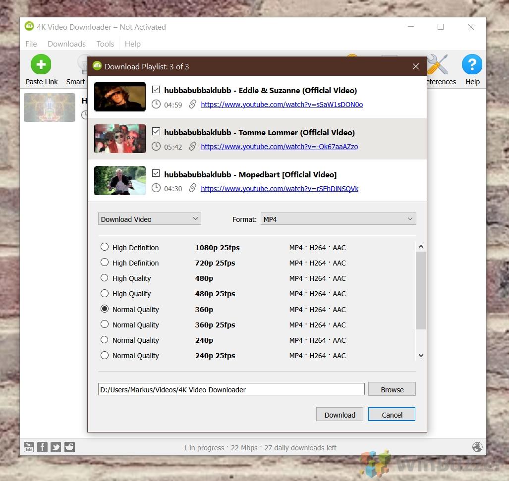 """Téléchargeur vidéo 4K - Téléchargement de liste de lecture - Qualité sélectionnée"""" width=""""1027"""" height=""""971"""" srcset=""""https://winbuzzer.com/wp-content/uploads/2021/06/08-4K-Video-Downloader- Playlist-Download-Selct-Quality.jpg 1027w, https://winbuzzer.com/wp-content/uploads/2021/06/08-4K-Video-Downloader-Playlist-Download-Selct-Quality-300x284.jpg 300w, https://winbuzzer.com/wp-content/uploads/2021/06/08-4K-Video-Downloader-Playlist-Download-Selct-Quality-1024x968.jpg 1024w, https://winbuzzer.com/wp-content /uploads/2021/06/08-4K-Video-Downloader-Playlist-Download-Selct-Quality-768x726.jpg 768w, https://winbuzzer.com/wp-content/uploads/2021/06/08-4K- Video-Downloader-Playlist-Download-Selct-Quality-150x142.jpg 150w, https://winbuzzer.com/wp-content/uploads/2021/06/08-4K-Video-Downloader-Playlist-Download-Selct-Quality -696x658.jpg 696w, https://winbuzzer.com/wp-content/uploads/2021/06/08-4K-Video-Downloader-Playlist-Download-Selct-Quality-444x420.jpg 444w"""" tailles=""""(max -largeur : 1027px) 100vw, 1027px"""