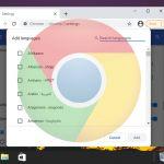 How to Change Chrome's Default Language