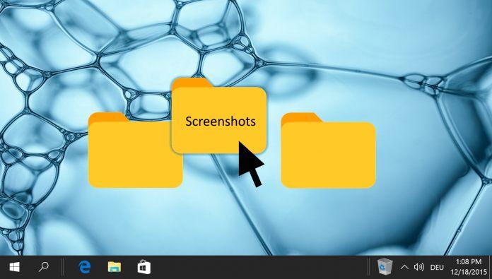 Featured - How to change Print Screen Screenshots folder location in Windows 10