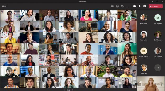 Microsoft-Teams-98-Participants-Gallery-View