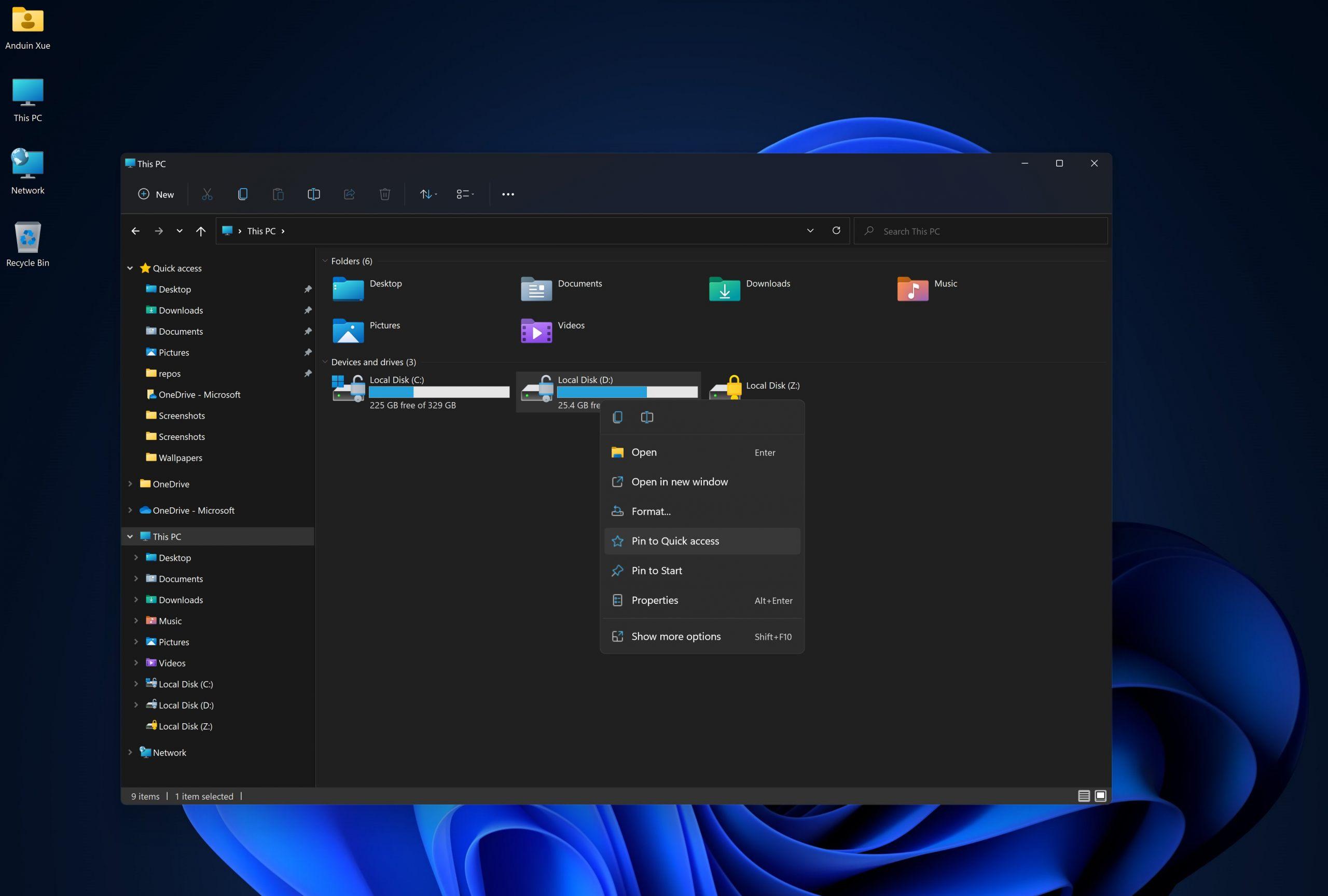 Settings-Windows-11-Dark-Mode