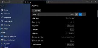 Windows-Terminal-Actions-Microsoft