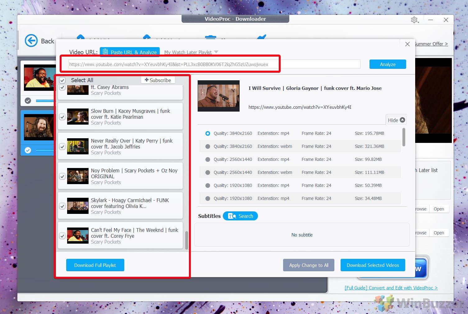 VideoProc Video Downloader