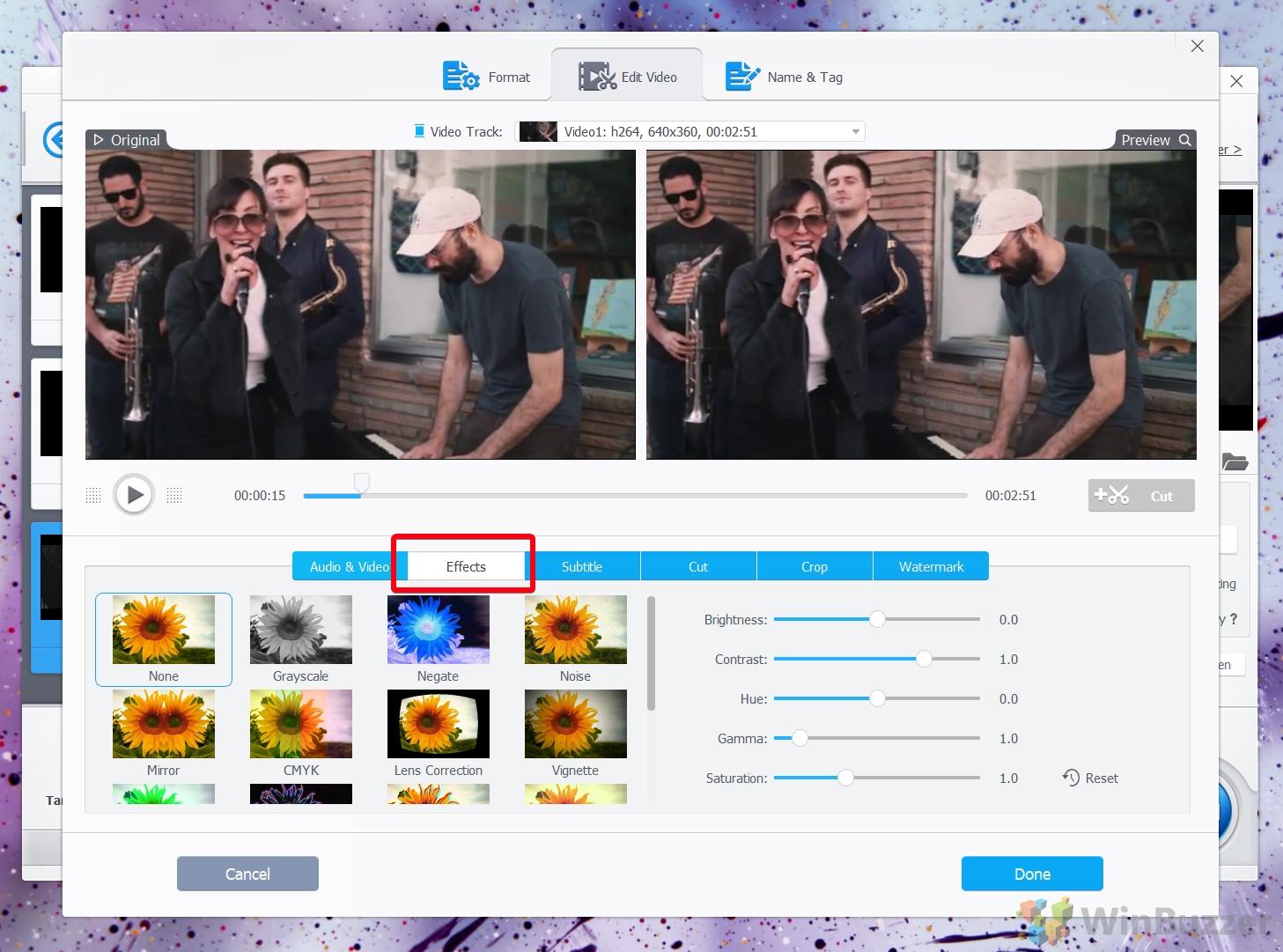 VideoProc video editor